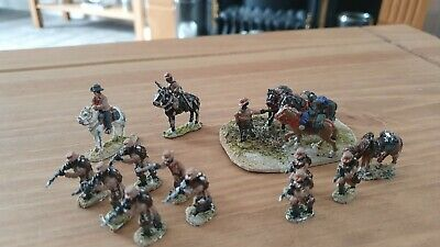 Toy Soldiers Metal British Colonial Wars Native Troops Scale 1 72 • 2£