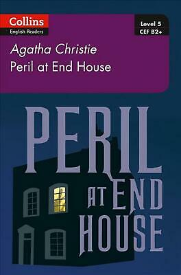 Peril At House End: B2+ Level 5 By Agatha Christie (English) Paperback Book Free • 8.30£