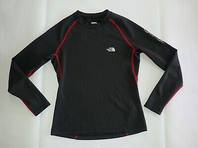 £12.88 • Buy The North Face Women M Base Layer Long Sleeve Top Black Ski Hike Casual B32
