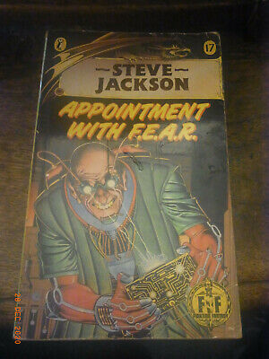 AU13.50 • Buy Appointment With F.E.A.R By Steve Jackson - Puffin - 1987