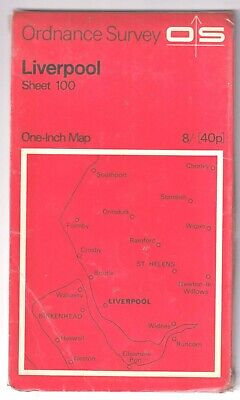 £2.99 • Buy Ordnance Survey One Inch Map: Liverpool
