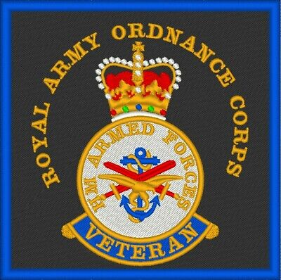 £8 • Buy HM Forces Royal Army Ordnance Corps Veteran Patch