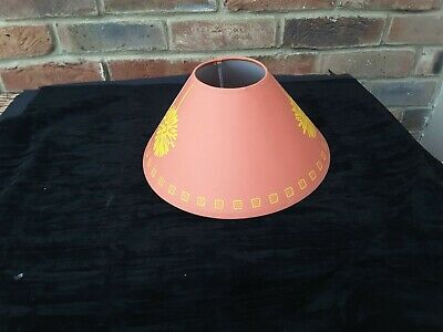 2 X12 Terracotta Lamp Shades Coolie Cone Table Lamp /Ceiling Light  Shades    • 15£