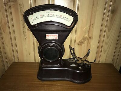 Rare 1lb ASCO Automatic Scale Co. Bakelite Candy Sweet Shop Scale 1930's • 49.99£