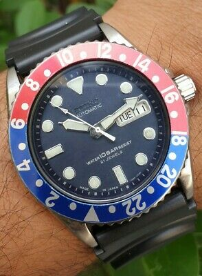 $ CDN238.50 • Buy Vintage Seiko Diver Automatic Ref No 7s26 0020 Pepsi Bezel Japanese Watch