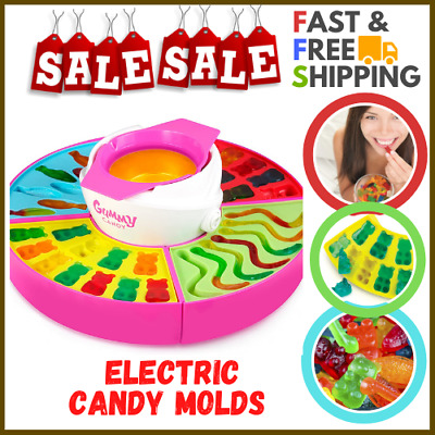 $43.47 • Buy Nostalgia Electric Giant Gummy Bear, Fish And Worm Maker Try With Your Own CBD O