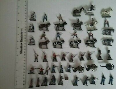 Collection Of Small Scale Soldiers And Zulus • 2£