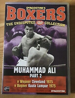 £8.99 • Buy Boxers - The Undisputed DVD Collection - Muhammad Ali Part 2 New DeAGOSTINI'S