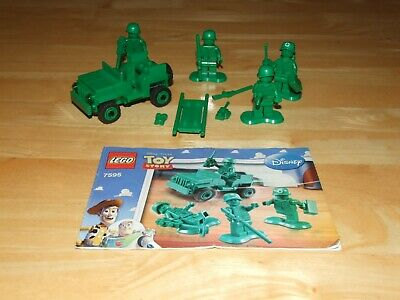 Lego Toy Story - 7595 Army Men On Patrol, Complete • 14.95£