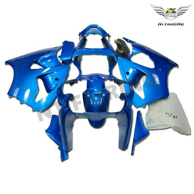 $509.99 • Buy MS Injection Mold Fairing Bodyset Fit For Kawasaki 2000-2002 ZX6R ZX-6R ABS X035