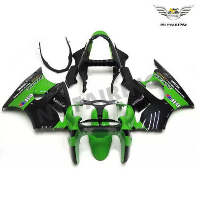 $509.99 • Buy MS Injection Fairing Green Black Fit For Kawasaki 2000-2002 ZX6R ZX-6R ABS X026