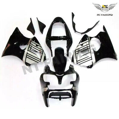 $509.99 • Buy MS Fairing Injection Silver Black Fit For Kawasaki 2000 2002 ZX6R ZX-6R X020