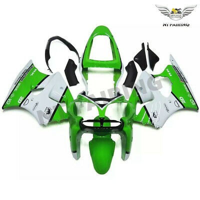 $509.99 • Buy MS Injection Fairing White Black Fit For Kawasaki 2000-2002 ZX6R ZX-6R ABS X027