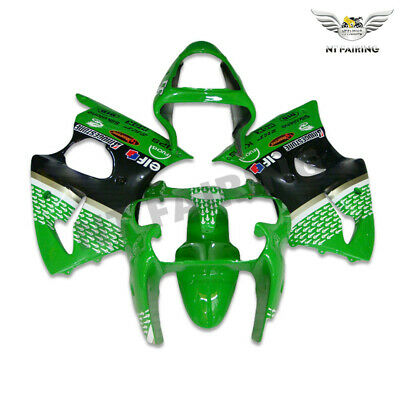 $509.99 • Buy MS Injection Green ABS Plastic Fairing Fit For Kawasaki 2000 2002 ZX6R 636 X023