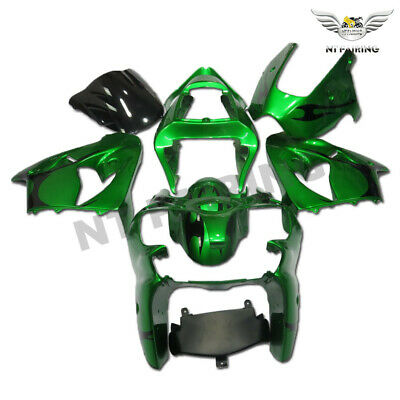 $509.99 • Buy MS Injection Fairing Kit Green Fit For Kawasaki 2000-2002 ZX6R ZX-6R ABS X032