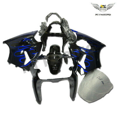 $509.99 • Buy MS Injection Fairing Blue Flame Fit For Kawasaki 2000-2002 ZX6R ZX-6R ABS X036