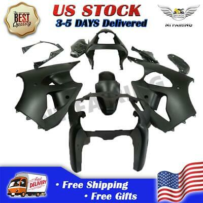 $379.99 • Buy MS Fit For Kawasaki 2000-2002 ZX6R 636 Matte Black ABS Injection Fairing X045