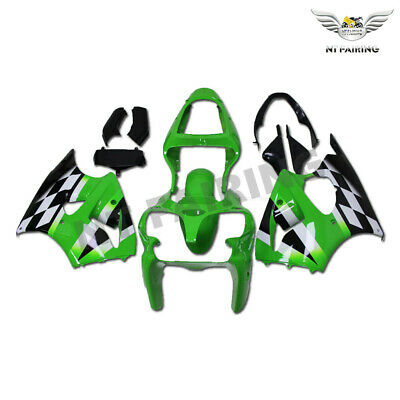$509.99 • Buy MS Fairing Kit Green ABS Plastic Injection Fit For Kawasaki 2000-2002 ZX6R X014
