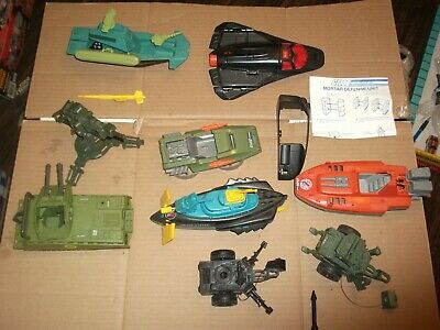 $ CDN3.77 • Buy 1980s-90  #489 Batch LOT Vintage 3 3/4  Gi Joe Vehicles & Parts