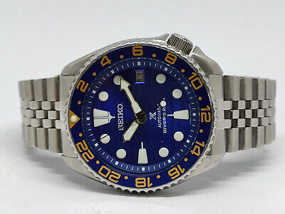 $ CDN35.09 • Buy Seiko Diver 7002-7000 Lovely Save The Ocean Mod Automatic Mens Watch 525273