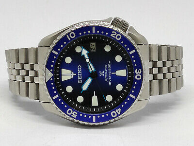 $ CDN32.58 • Buy Seiko Diver 7002-7000 Lovely Save The Ocean Mod Automatic Mens Watch 610240