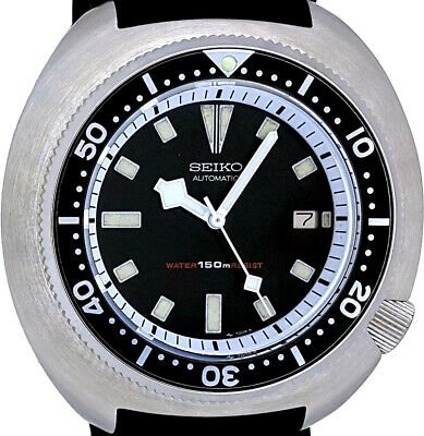 $ CDN66.41 • Buy Vintage SEIKO Diver Big 49mm TURTLE 316L SS Case Mod With Genuine 7002 Movt/dial