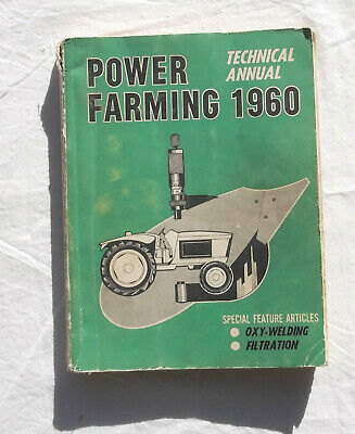 AU49.99 • Buy 1960 Power Farming Technical Annual Tractor Stationary Engine Implements