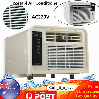 AU269.10 • Buy Portable Window Air Conditioner Refrigerated Cooling Wall Box Cooler Machine New