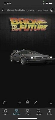 VEVE NFT Interactive DeLorean COMMON #/31,227 Back To The Future SOLD OUT • 31£
