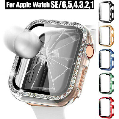 AU10.99 • Buy For Apple Watch Series 4/5/6 With Screen 38/42/44mm IWatch Protector Case Cover