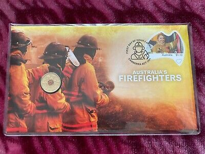 AU38.99 • Buy 2021 Firefighters $2 Dollar Coin PNC