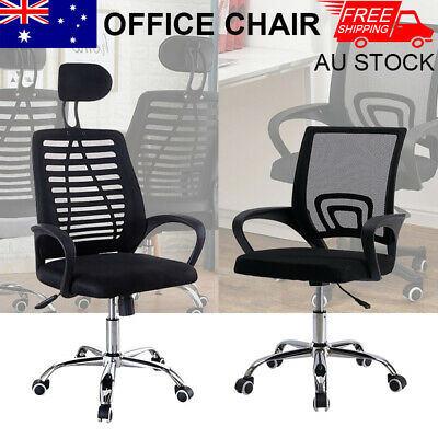 AU64.56 • Buy Artiss Office Chair Gaming Computer Desk Chairs Study Work Home Mesh Recliner AU