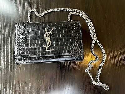 AU850 • Buy Authentic YSL Saint Laurent Classic Small Kate Chain Bag