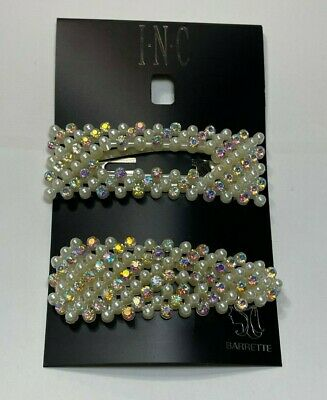 $ CDN6.27 • Buy INC Hair Accessories Silver Tone New Over Stock With Tags