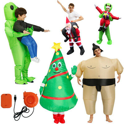 Inflatable Performance Costume Hug From Back For Halloween Party Adult • 25.37£