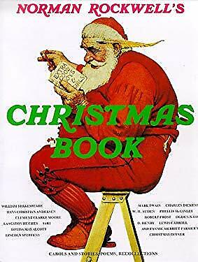 $ CDN7.02 • Buy Norman Rockwell's Christmas Book Hardcover Molly Rockwell