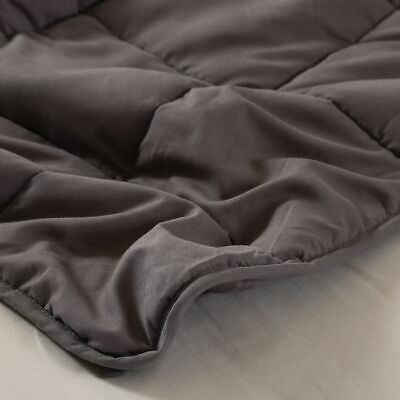 AU59.99 • Buy DreamZ Weighted Blanket Heavy Gravity Deep Relax 7KG Adult Double Grey