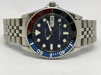 $ CDN1.25 • Buy Seiko Diver Automatic Mens Watch 7s26-0050 Skx025j 10 Bar Submariner Sn 759897