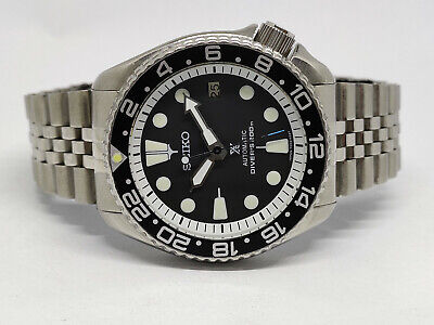 $ CDN10.62 • Buy Seiko Diver 7002-7001 Black Face Modded Automatic Mens Watch 201760