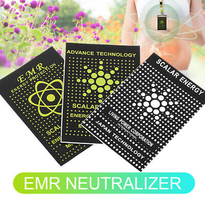 5x Anti Radiation Kit For Protection Stickers EMF EMR Energy Saver Phone Laptop • 2.60£