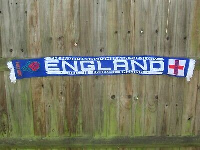 £7.99 • Buy England Pride Passion Power Glory Football Scarf - Good Quality New Old Stock