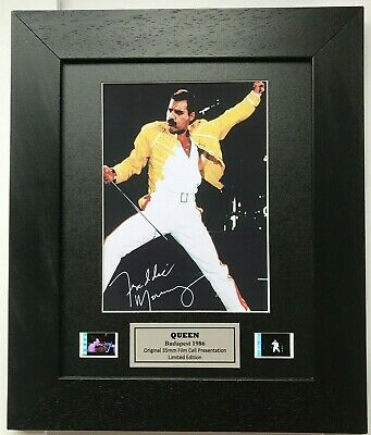 £39.99 • Buy Queen FREDDIE MERCURY Reproduction Signed Print V2
