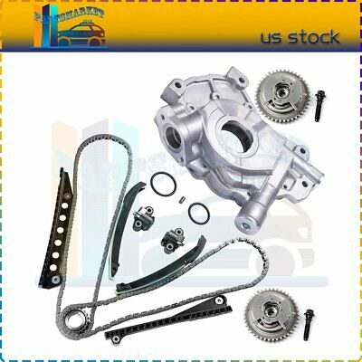 $234.89 • Buy Timing Chain Oil Pump Kit W/ Cam Phaser For 05-08 FORD F-250 SUPER DUTY 5.4L V8