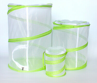AU32.98 • Buy Abu I Pet Pop-up Cylinder-Shaped Insect Observe Cage Butterfly Habitat Cage