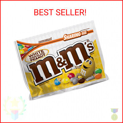 $5.88 • Buy M&M'S Peanut White Chocolate Candy, 9.6 Ounce Pouch