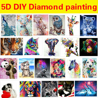 £4.98 • Buy Full Drill 5D Diamond Painting Embroidery Picture Art Cross Stitch DIY Kit