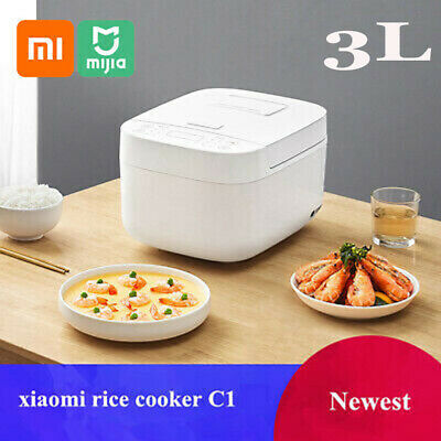 AU79.99 • Buy Xiaomi MI C1 3L Smart Rice Cooker With App Control Multi And Function Alloy Coat