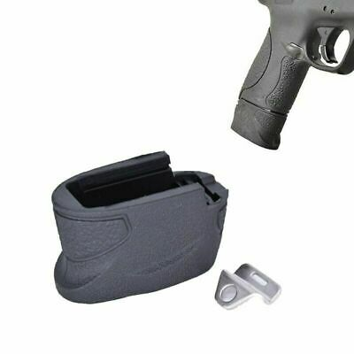$19.98 • Buy For S&W M&P Shield Magazine Extension +2 Rounds 9mm / .40 Cal - Mag Base 1/2Pcs