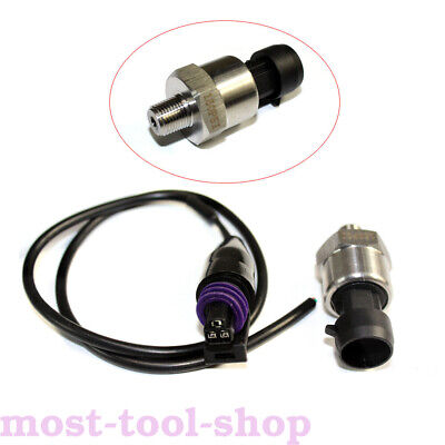 $14.02 • Buy 0-150 Psi Pressure Transducer Or Sender Stainless Steel For Oil Fuel Air Water