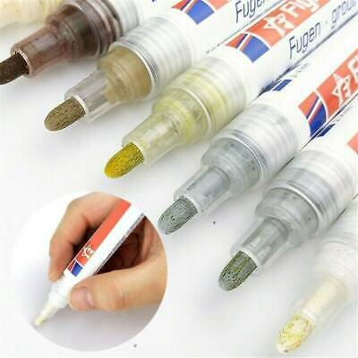 Grout Pen Water Resistant Home Anti Mould Professional Repair Marker • 2.69£